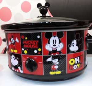 Mickey Mouse Slow Cooker from SelectBrands