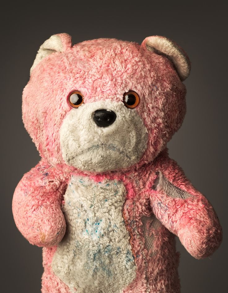These Photos of Old Stuffed Animals Will Make You Miss Childhood