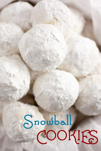Snowball Cookies | Recipe | Snowball Cookies, Snowball and Cookies