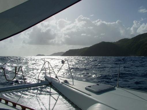 Catamaran cruise in the Caribbean.... Honeymoon???