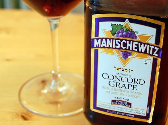 Manischewitz Wine
