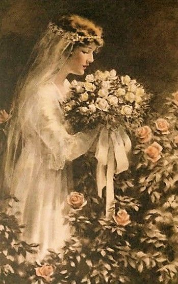 The Fairest Of Flowers ~ Bessie Pease Gutmann