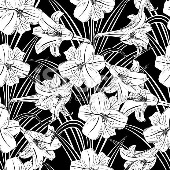 129 best black and white flowers background images on pinterest stock illustration 38214020 seamless black white lily pattern white flowersbackgroundsbackdrops mightylinksfo