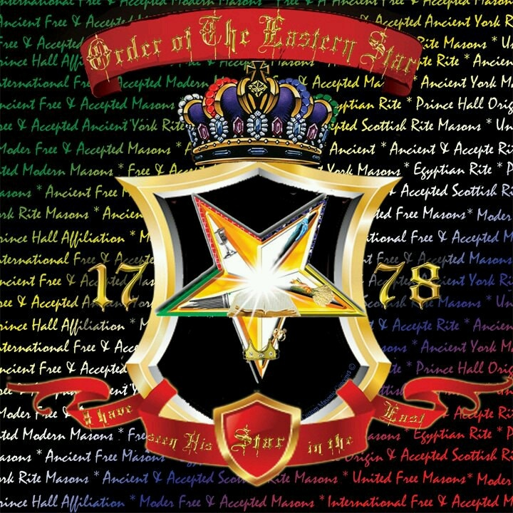 147 Best Images About Oes Order Of The Eastern Star On