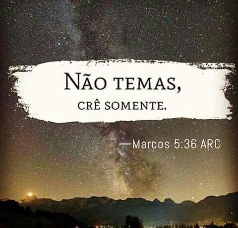 Eu creio em ti !!!