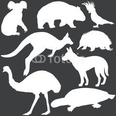 australian themed silhouettes - Google Search