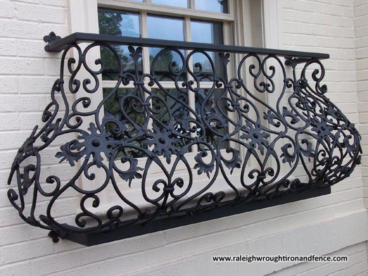 decorative-wrought-iron-balcony-railings-dwgautocad-drawing