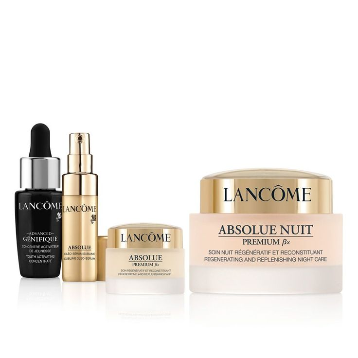 Replenish your skin with this day & night routine from Lancôme. #beauty #cosmetics #makeup #searscanada