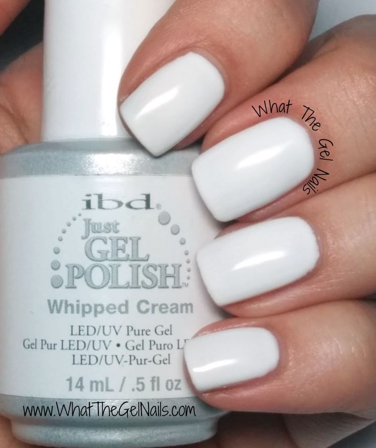 IBD Whipped Cream plus more of my top 10 favorite IBD just gel polishes colors.