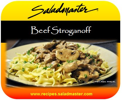 Saladmaster recipes for mp5 22