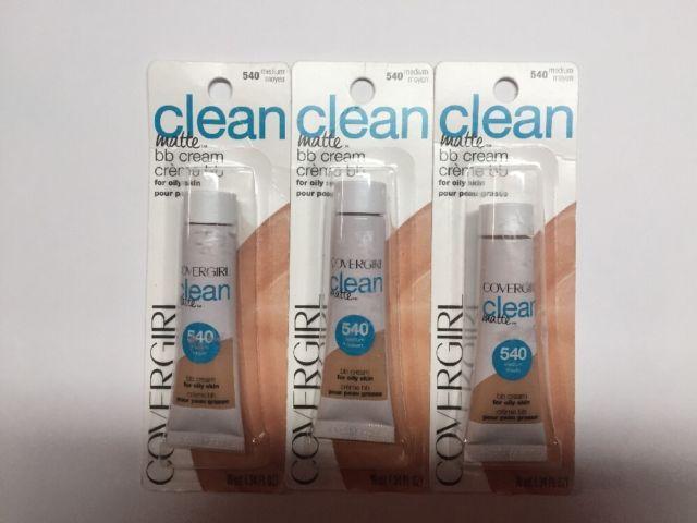 Lot Of 3 Covergirl Clean Matte bb Cream 540 Medium   eBay