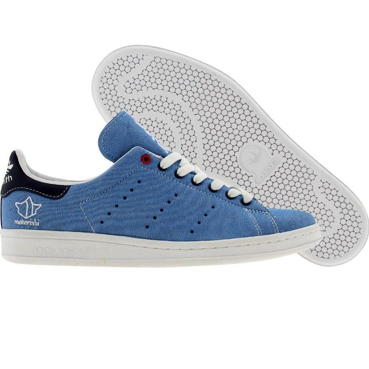 Adidas Stan Smith 80 x Maharishi (white / blue) G14102 - $99.99. Adidas  Stan SmithAdidas SuperstarCasual Shoes