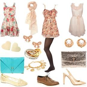 Cute spring Weekend Outfits | spring fling in seasonal prints dresses accessorized to make cute