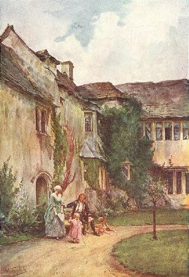 Westwood Manor House, Wiltshire, by Walter Tyndale, 1906.