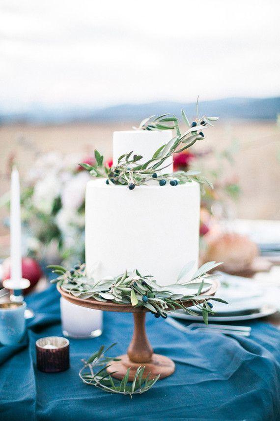 Rustic indigo wedding inspiration