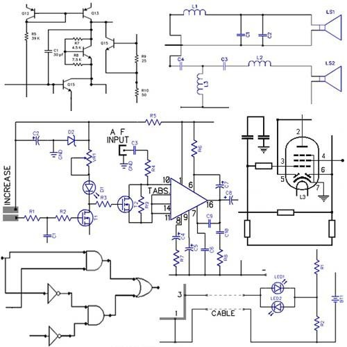 circuit design software electronics circuits design software