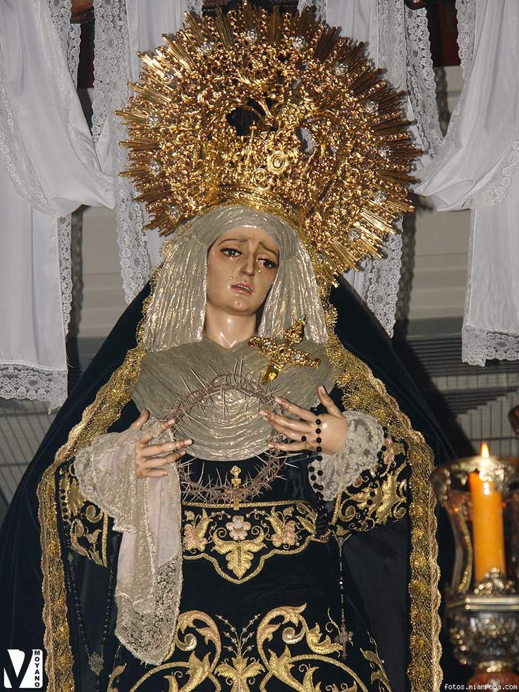 Virgen de la Soledad. Sevilla (Spain)
