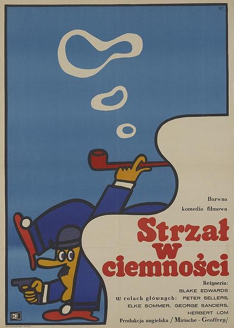 Polish smoking cartoon poster.