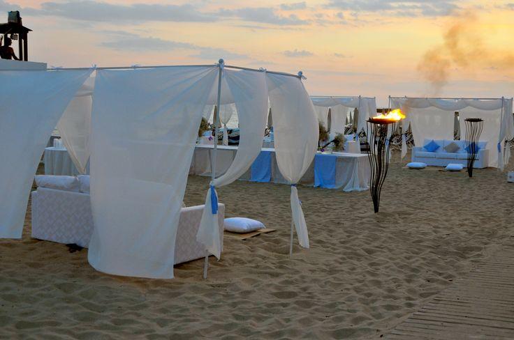 un meraviglioso wedding day in spiaggia!
