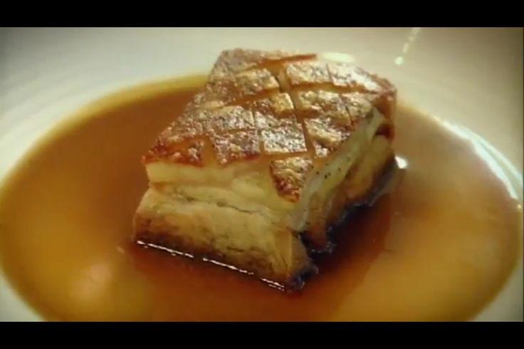 Gordon Ramsay's Pressed Belly of Pork