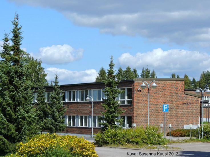 Uramon koulu (remontissa v. 2013, toiminta siirretty osoitteeseen Kalevankatu 5-11), Riihimäki. Kuva: Susanna Kuusi