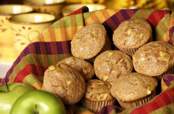 Almás, zabpelyhes muffin | femina.hu