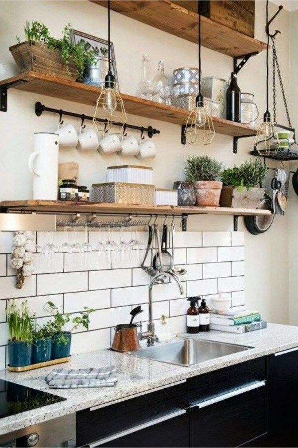 Industrial Decorating Ideas And Tips Avec Images Etagere