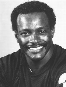 Walter Payton. NFL Hall-of-Fame Running Back for Chicago Bears. From Columbia, Mississippi.