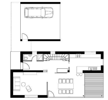 434 besten kompakte traum h user bilder auf pinterest. Black Bedroom Furniture Sets. Home Design Ideas