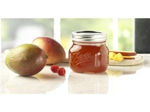 Ball® Collection Elite® Pint (16-oz.) Wide Mouth Jars Set of 4 by Ball® at Fresh Preserving Store.