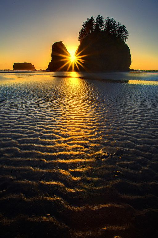 Ripples, Olympic National Park, Washington.| Kevin McNeal Photography