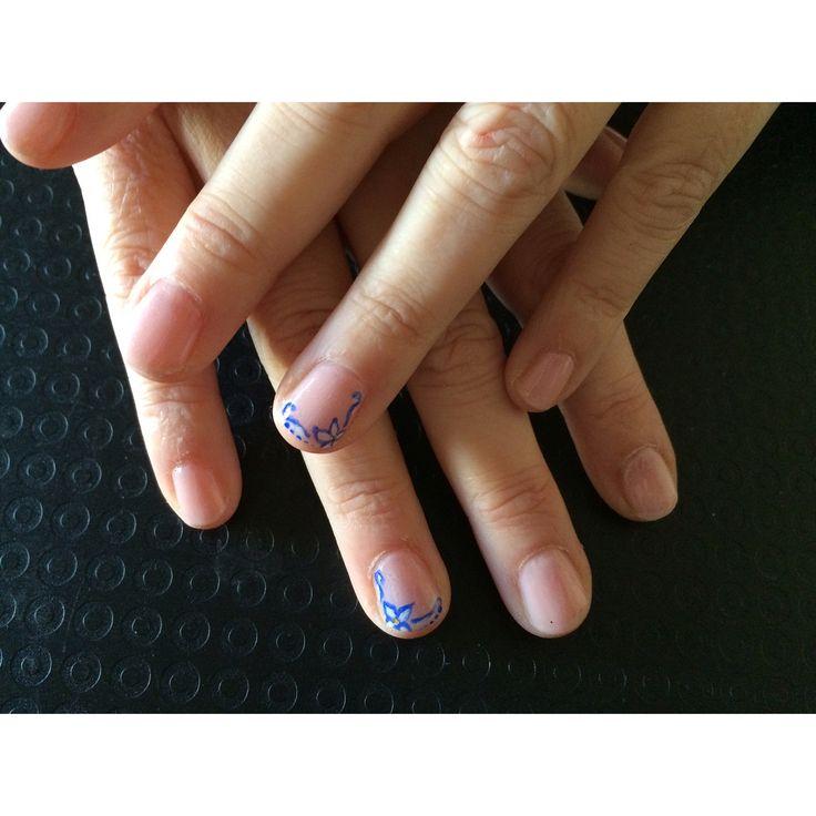 Elegance always   Natural nails