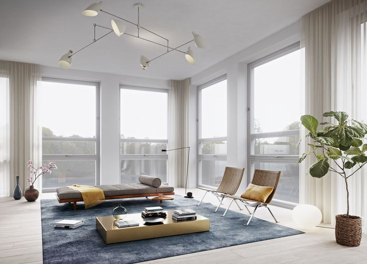 Oscar Properties  #oscarproperties  Stockholm, Zootomiska, Lyceum, livingroom, carpet, flower, plant, windows, sofa, design, interior