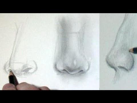 Comment dessiner un nez [Tutoriel] - YouTube