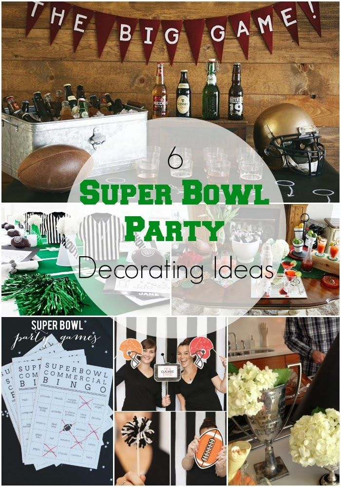 6 stylish super bowl party decorating ideas beer tasting banners and an affair to remember. Black Bedroom Furniture Sets. Home Design Ideas