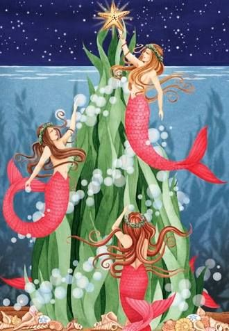 Christmas Mermaids