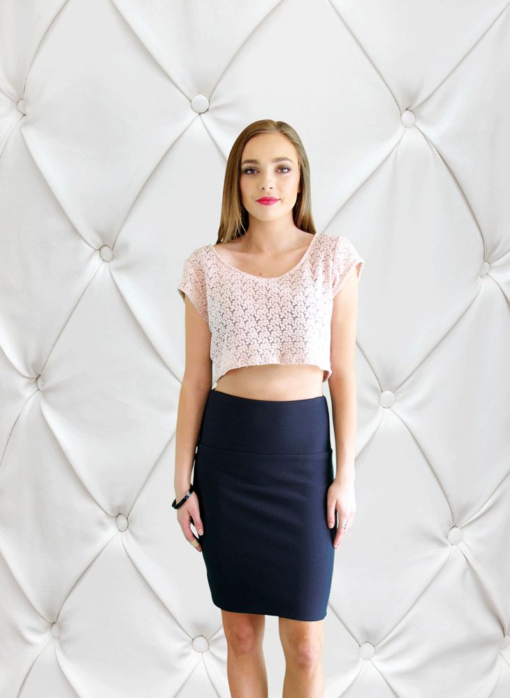 The Sassed Cropped Top