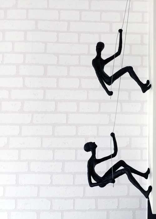 Climbing Man Wall Art 17 best climbing man wall sculpture images on pinterest | art for
