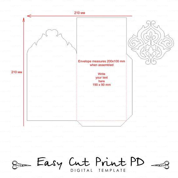 The 25+ best Envelope templates ideas on Pinterest Envelopes - money envelope template