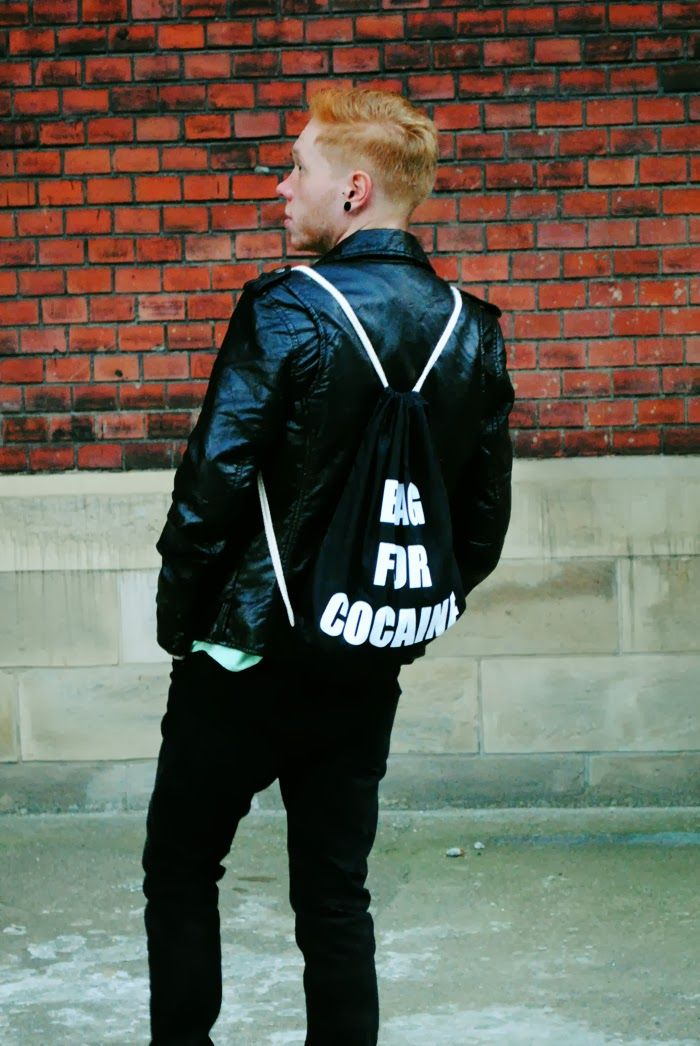 Backpack - BAG FOR COCAINE