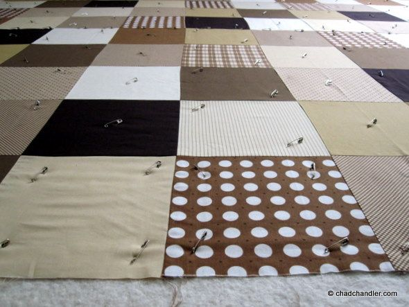 """A Simple Quilt Pattern: The """"No-Frills"""" Quilt For Beginner Quilters 
