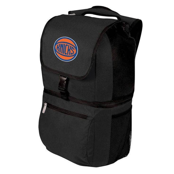 Picnic Time New York Knicks Zuma Backpack Cooler, Black