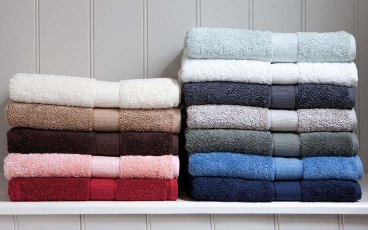 luxury egyptian towel range