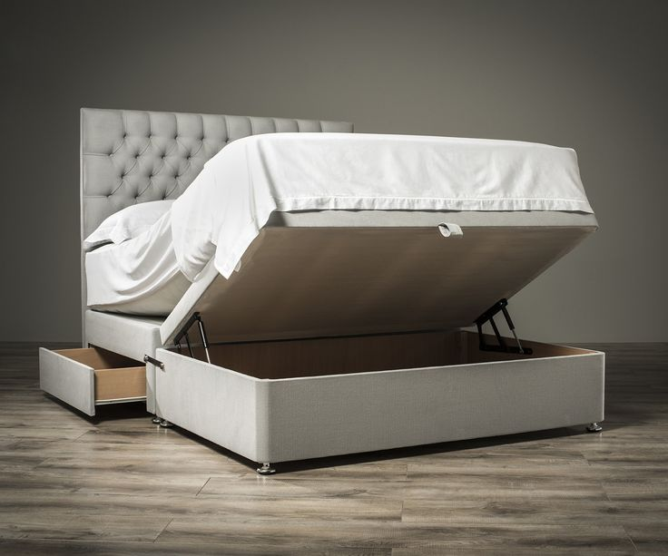 Sueno Half & Half Ottoman Bed | Exclusive Ottoman Beds fr. Sueno - 25+ Best Ideas About Ottoman Bed On Pinterest Extra Bed, Spare