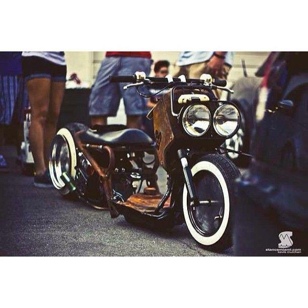That dirty #ruckus built by @eurospec_motorsports @eurospec_dannick @koolaid_gti #bags #bagged #baggeddaily #bageverything #becausebags #scooter #bike #motorcycle #rust #rat #stanced #airride #airsuspension #airsociety