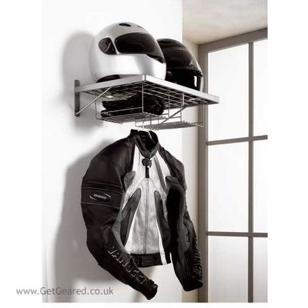 Iu0027d Love To Hang This Biker Duo Clothes Rack In My Garage! No More Helmet  Hanging Off The Handlebars!