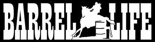 Rodeo Barrel Racing Decal - Female Barrel Racer Rodeo Horse | LilBitOLove - Housewares on ArtFire