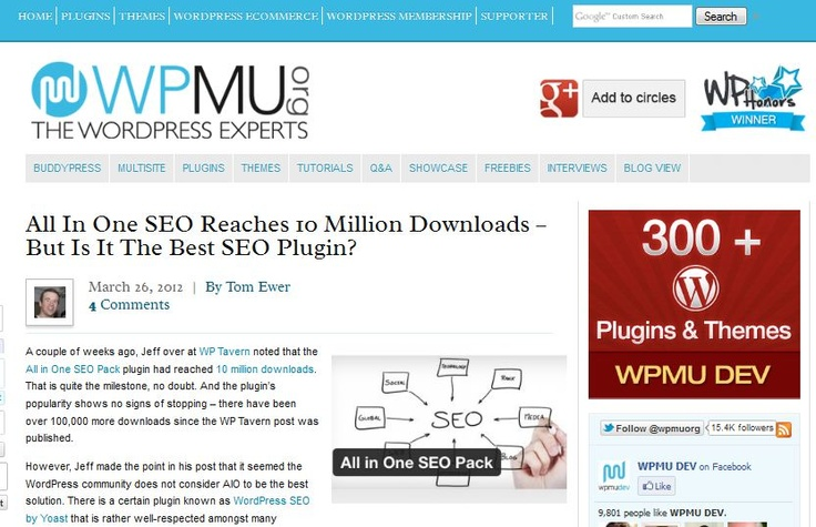 All In One SEO Reaches 10 Million Downloads – But Is It The Best SEO Plugin?Seo Pack, Seo Reach, Download, Reach 10, Plugins Popular, Pack Plugins, Seo Plugins