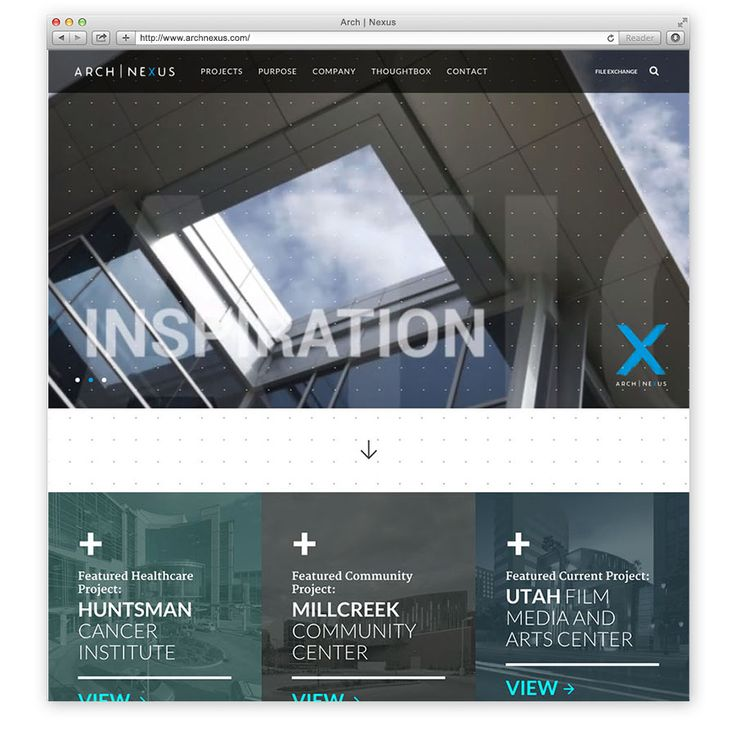 arch nexus web mock home2