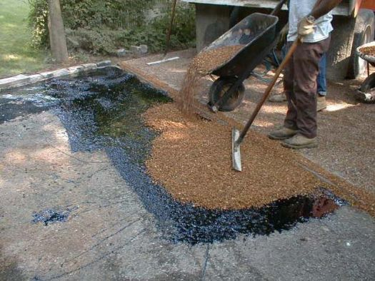 Tar and chip driveways for many reasons: